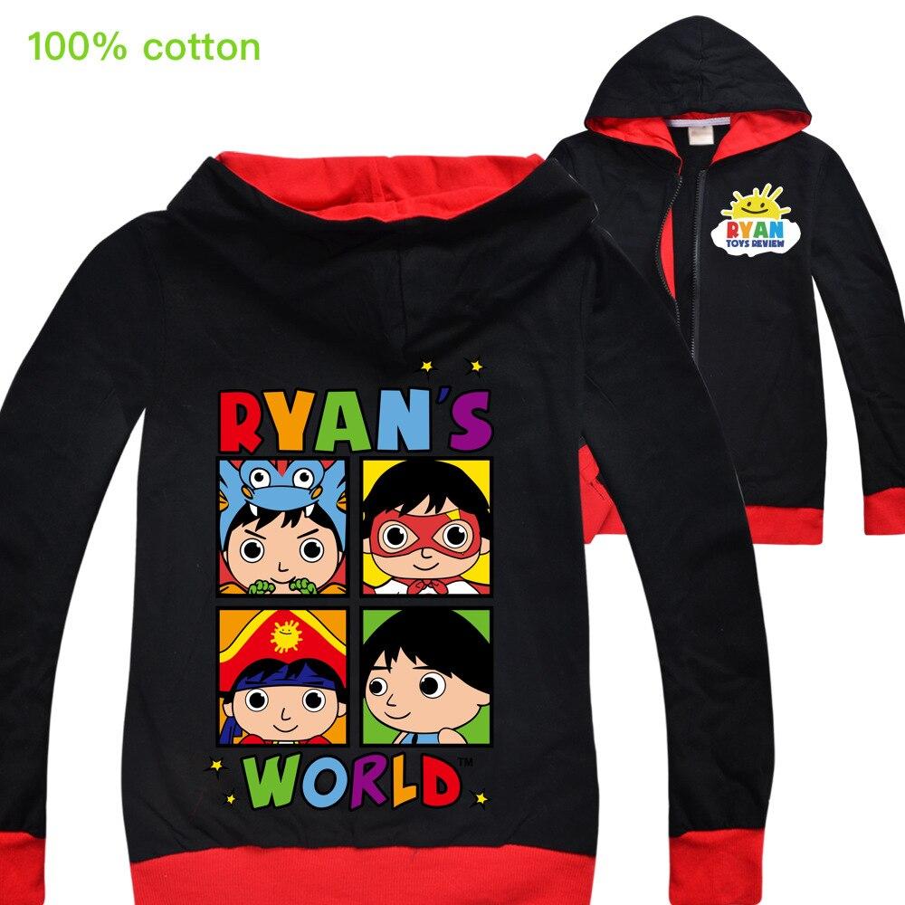 Ryan Toys Review/черные толстовки с капюшоном JOJO Siwa, толстовки, куртки, топы, одежда, футболка для девочек, карнавальный костюм, одежда, подарок на