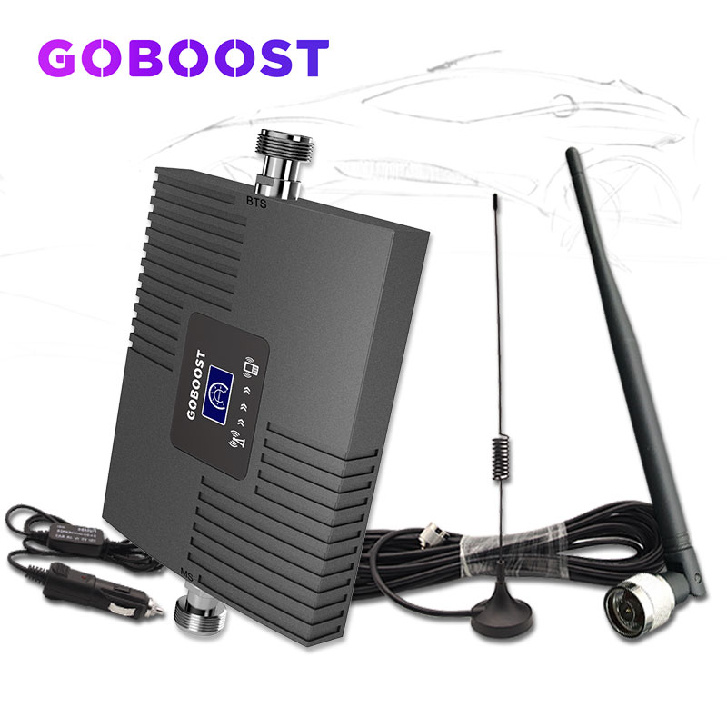 Car Cellular Signal Booster Repeater 2G 3G Amplifier 850 Cdma Signal Booster 3g Cell Phone Amplifier Anrenna For Vehicle Car -
