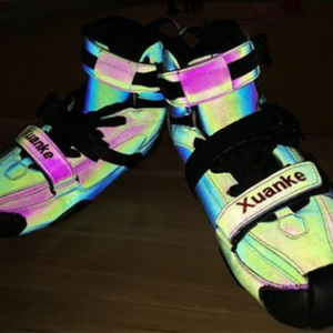 Image 5 - 2020 reflektierende Carbon Slalom Inline Skates Kind Erwachsene Roller Skating Schuhe Schiebe Patines Ähnliche Mit SEBA IGOR KSJ