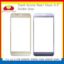 10Pcs/lot Touch Screen For LG X CAM K580DSF K580DS K580 K580i K580F K580AR Panel Front Outer Cam LCD Glass Lens