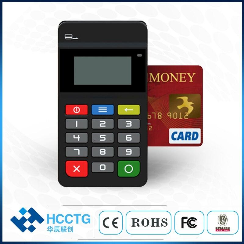 EMV sdk lecteur de carte de crédit mobile NFC + IC + MIfare + MSR Bluetooth Android lecteur de carte à bande magnétique sans fil de crédit Mobile HTY711