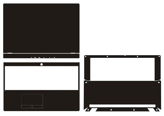 Laptop Carbon Fiber Vinyl Skin Sticker Cover For Lenovo Legion Y540-15IRH/Y540 15.6