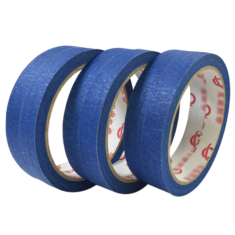 Professional Painters Tape Blue Masking Tape Is Easy To Tear And Not Sticky Adhesive Tape Resistant To Solvents And Moisture