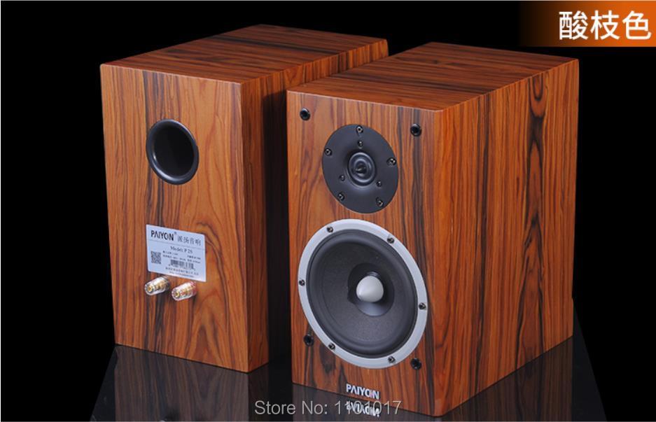 PAIYON P2S Bookshelf Speakers HIFI EXQUIS Tymphany Peerless VIFA XT25TG30 unit speaker 3