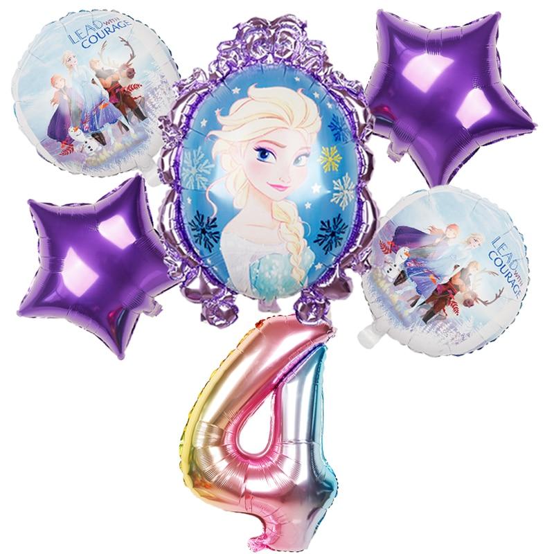 魔镜艾莎紫边数字4