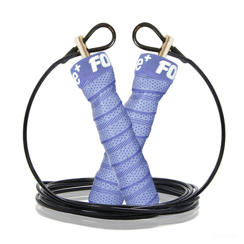 ForceFree+Fitness Weighted Jump <font><b>Rope</b></font> Adjustable Speed <font><b>Skipping</b></font> <font><b>Rope</b></font> 3M Single Skip <font><b>Rope</b></font> Nonslip <font><b>Handle</b></font> for Gym Training Exercise image