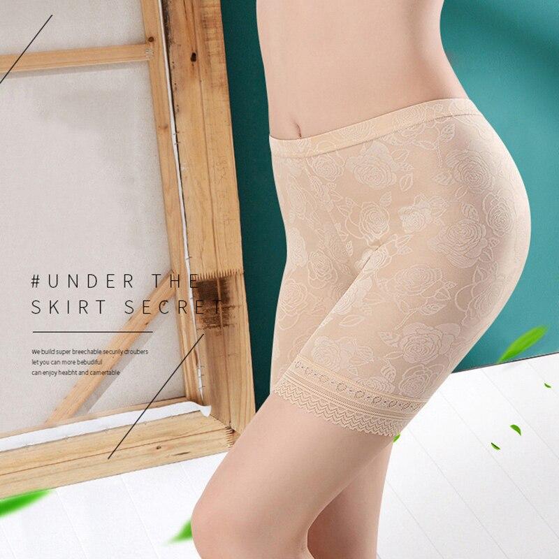 Женские кружевные шорты размера плюс XL-5XL, нижнее белье, женские трусы-боксеры, хит продаж, женские трусы