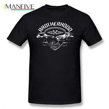 Paul Walker T Shirt Fast And Furious Brotherhood T-Shirt Oversize Male Tee Shirt Cotton Graphic Short Sleeve Funny Tshirt t shirt paul parker t shirt