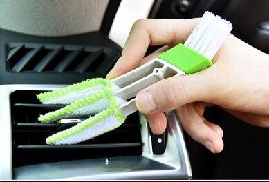 Car clean brush air conditioner computer blinds care For Mercedes Benz W211 W203 W204 W210 W124 AMG W202 CLA W212 W220