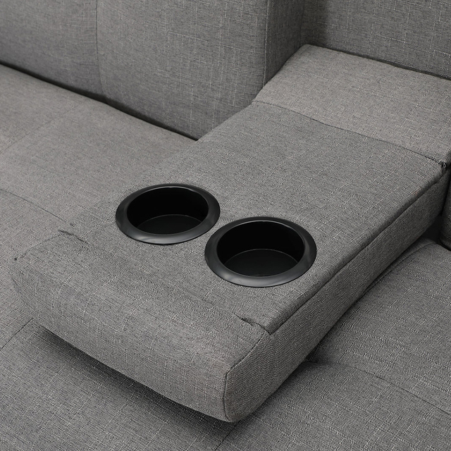 Light Grey Sofa Bed Couch  5