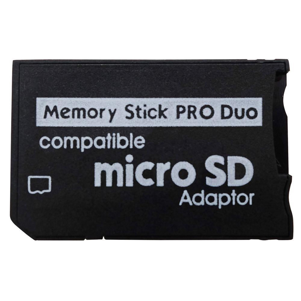 Support Memory Card Adapter Micro SD To Memory Stick Adapter For PSP Micro SD 1MB-128GB Memory Stick Pro Duo image