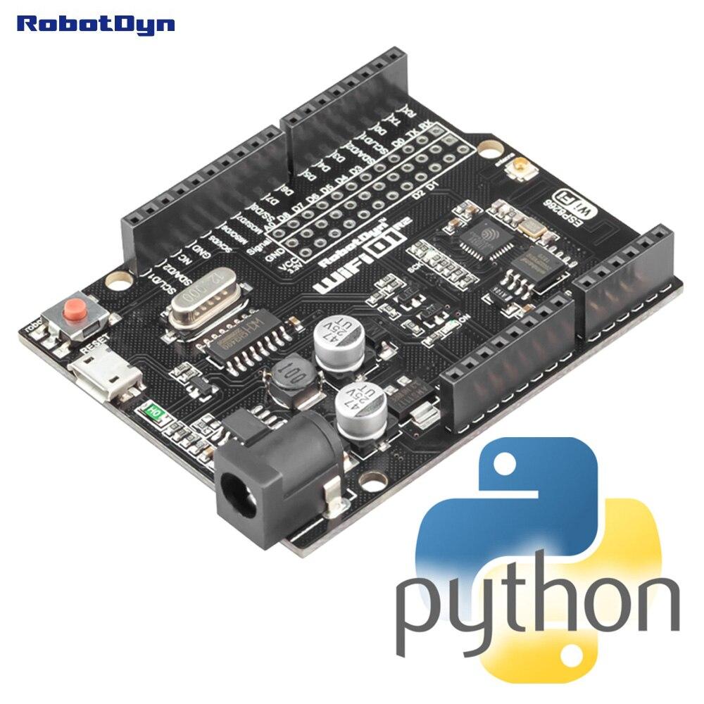 MicroPython ESP8266 D1R2 Board. Ardulno Form R3. Python Board.
