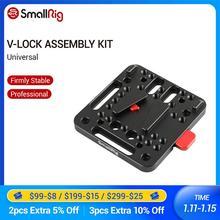SmallRig V Lock Montage Kit Weibliche V Dock Männlichen V Lock Schnell Release Platte 1846