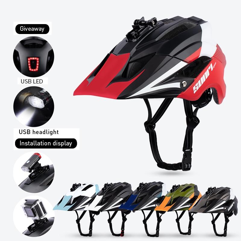 SUNRIMOON Ultralight Road Mountain MTB Bike Helmet casco de ciclismo.casco mtb.casco bicicleta Outdoor Bicycle Riding Helmet