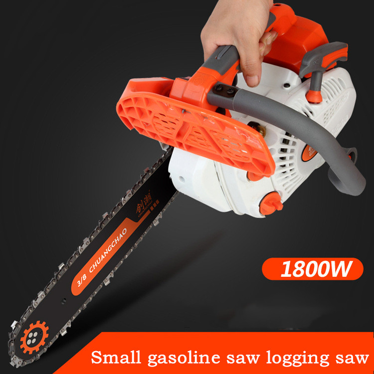 Small Gasoline Saw Logging Saw Single-handed Orchard Pruning And Cutting Tree