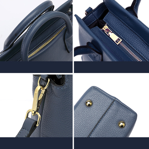 Image 4 - BISONJS роскошные сумки из натуральной кожи, женские сумки, дизайнерская женская сумка тоут, повседневная сумка с верхней ручкой, женская сумка на плечо B1870