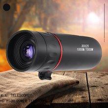 Hd оптический Монокуляр низкое ночное видение Водонепроницаемый мини портативный телескоп для путешествий охота область
