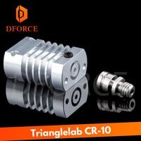 DFORCE T CR10 Hotend upgrade KIT All Metal/PTFE heatsink Titanium heat break for CR 10 CR 10S Ender3 upgrade Kit|3D Printer Parts & Accessories| |  -