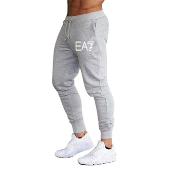 2020 New hot sale men's casual sports pants fashion foot casual pants men's jogging fitness pants gym sports - XXL, 4