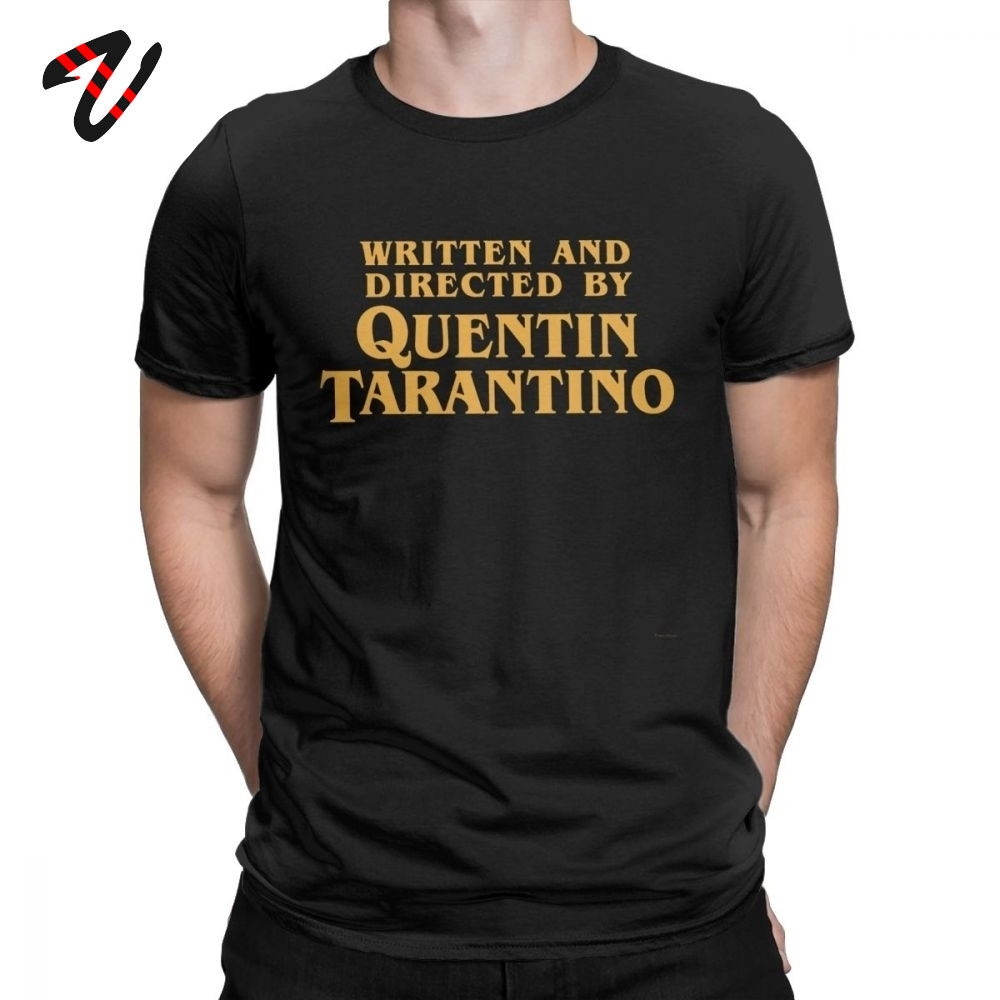 T-Shirt Written And Directed By Quentin Tarantino Movie Mens Tee Shirt Pulp Fiction T Shirts Django Kill Bill John Travolta Tops