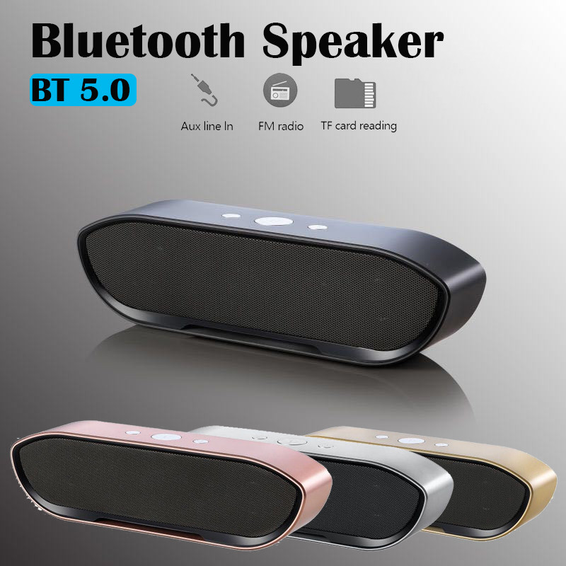 Portable Wireless Bluetooth Speaker FM Radio Stereo For Mobile Phone Tablet USA