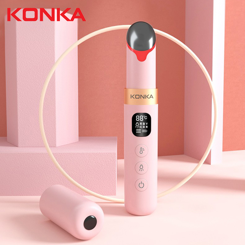 KONKA Beauty Eye Facial electrique Massager Eye Care Device Alleviating Fine Lines Under the Eyes Dark Circles Wrinkled Crow's(China)