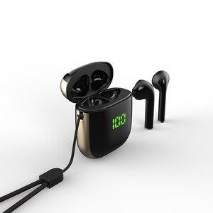 Image 2 - TWS Bluetooth 5.0 Earphones LED Display Mini Earbuds QI Wireless Charging Box Binaural HD Call Earbuds IPX5 Waterproof