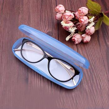 Przezroczyste PVC etui na okulary kobiety mężczyźni plastikowe okulary przeciw słoneczne pudełko na okulary twarde etui na okulary etui na okulary etui na okulary etui na okulary tanie ceny tanie i dobre opinie CN (pochodzenie) Unisex Stałe 15cm Eyewear case 15*5*3cm