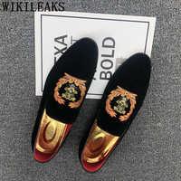 Mocassins chaussures de fête pour hommes robe de soirée chaussures élégantes pour hommes costume chaussures coiffeur chaussure homme mariage zapatos de hombre