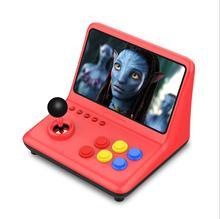 Новый ретро аркадная игра консоли большой 9 дюймовый портативный экран игра консоли 16 ГБ 32 64 г Видео игры встроенные игры для ПС1 ГБА