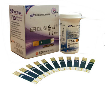 Blood glucose test strip - SD diabetes does not include VAT (50 / box)