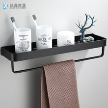 Полка для ванной комнаты настенная вешалка полотенец пространство