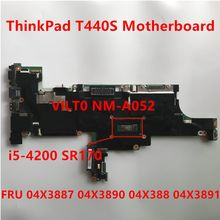 Laptop Motherboad Voor Lenovo Thinkpad T440S I5-4200 Moederbord Fru 04X3887 04X3890 04X3888 04X3891 100% Test Ok(China)
