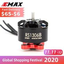 公式emaxモーターRS1306 Version2 RS1306Bブラシレスモーター3 4s rc飛行機fpvドローンマルチローター