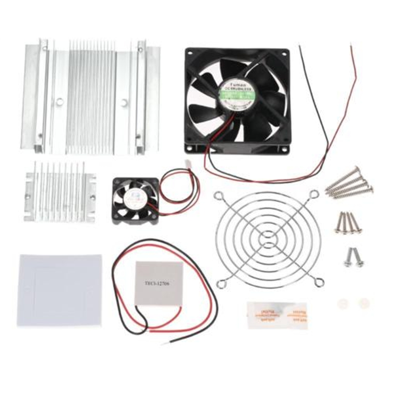 Dc 12V 60W Tec-12706 Thermoelectric Cooler Fan Cooling System Diy Kit