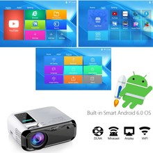E500H WIFI Android projector Full HD Projector 1280*800 3500