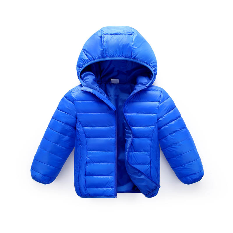 ZWY251 boys winter down jacket for girls white down parkas 90% down warm Ultra light children coat big boys girls clothes 3-11Y 5