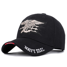 2019 New High Quality Badge Embroidery Baseball Cap NAVY SEAL Casual Hat Spring Man Woman Cotton Adjustable Dad Hat Male Trucker