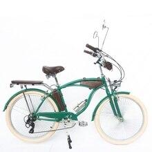 Bicicleta de playa de 26 pulgadas/bicicleta de ocio retro bicicleta de paseo estilo británico bicicleta de carretera de cambio de velocidad de Bicicleta de ciudad
