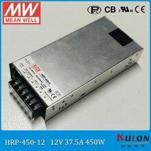 цена на MEAN WELL HRP-450 single output 450W 48V 24V PFC SMPS Switching Power Supply 220V To 12V AC DC Transformer 30A 60A 90A Led Strip
