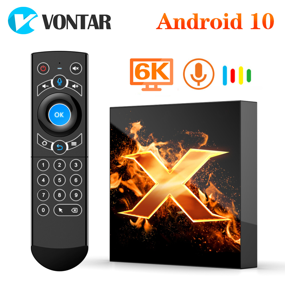 VONTAR Top-Box Android Media-Player Wifi BT5.0 10-Support-6k 4GB 64GB 5G 2GB 16GB Tv-Set
