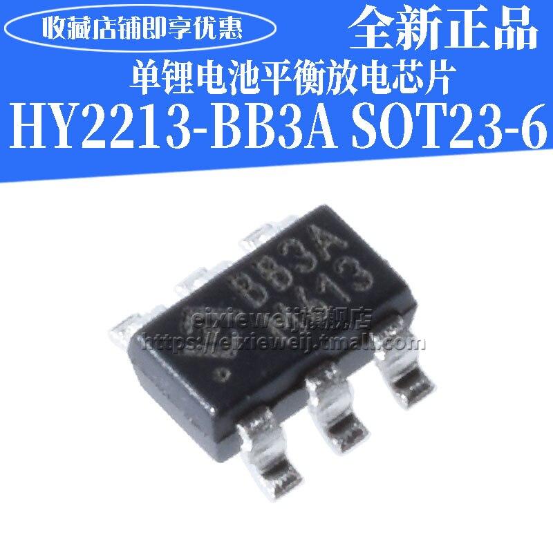 20PCS  HY2213-BB3A SOT23-6 BB3A  HY2213BB3A  New Original In Stock