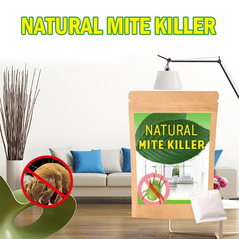 6pcs Natural Mite Killer Removal Of Acarid By Home Use Bed Removal Mite Pack Cleaner Insecticide