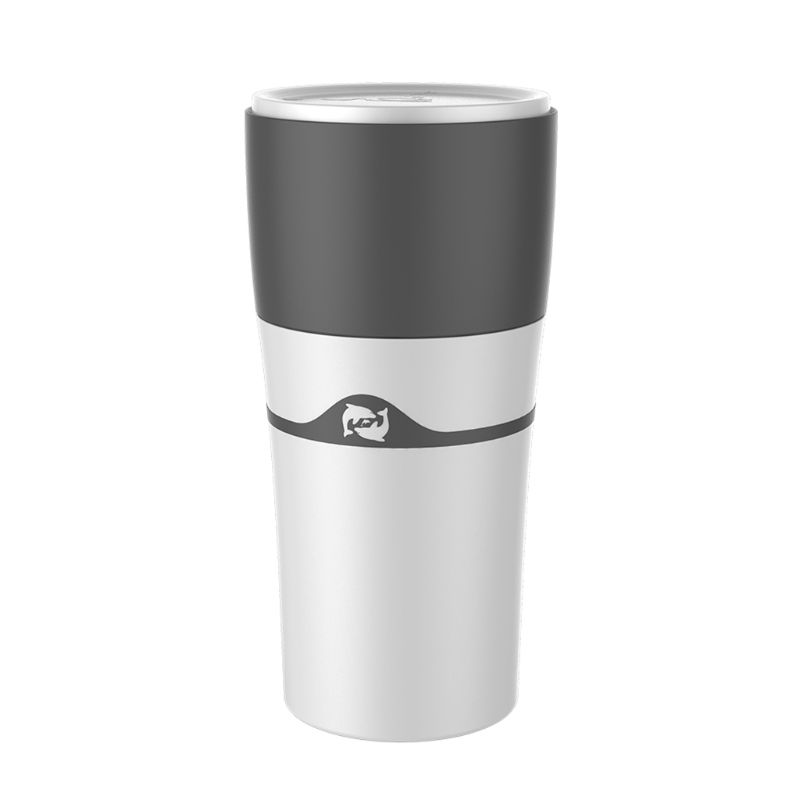 Portable Cold Brew Pour Over Drip Coffee Maker K-Cup Single Serve Mug