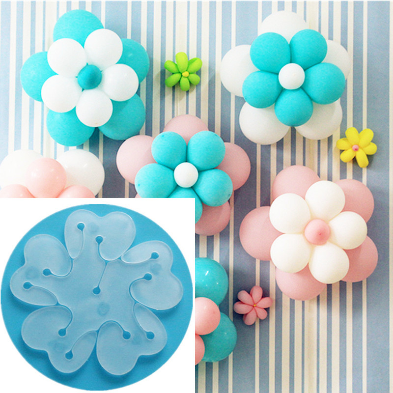 NEW 10pcs Flower Balloons Decoration Accessories Plum Clip Practical Birthday Wedding Party Plastic Clip Globos Balloon