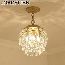Moderne Design Lustre Nordic Light Crystal Loft Deco Maison Suspendu Suspension Luminaire Lampara Colgante Hanging Lamp
