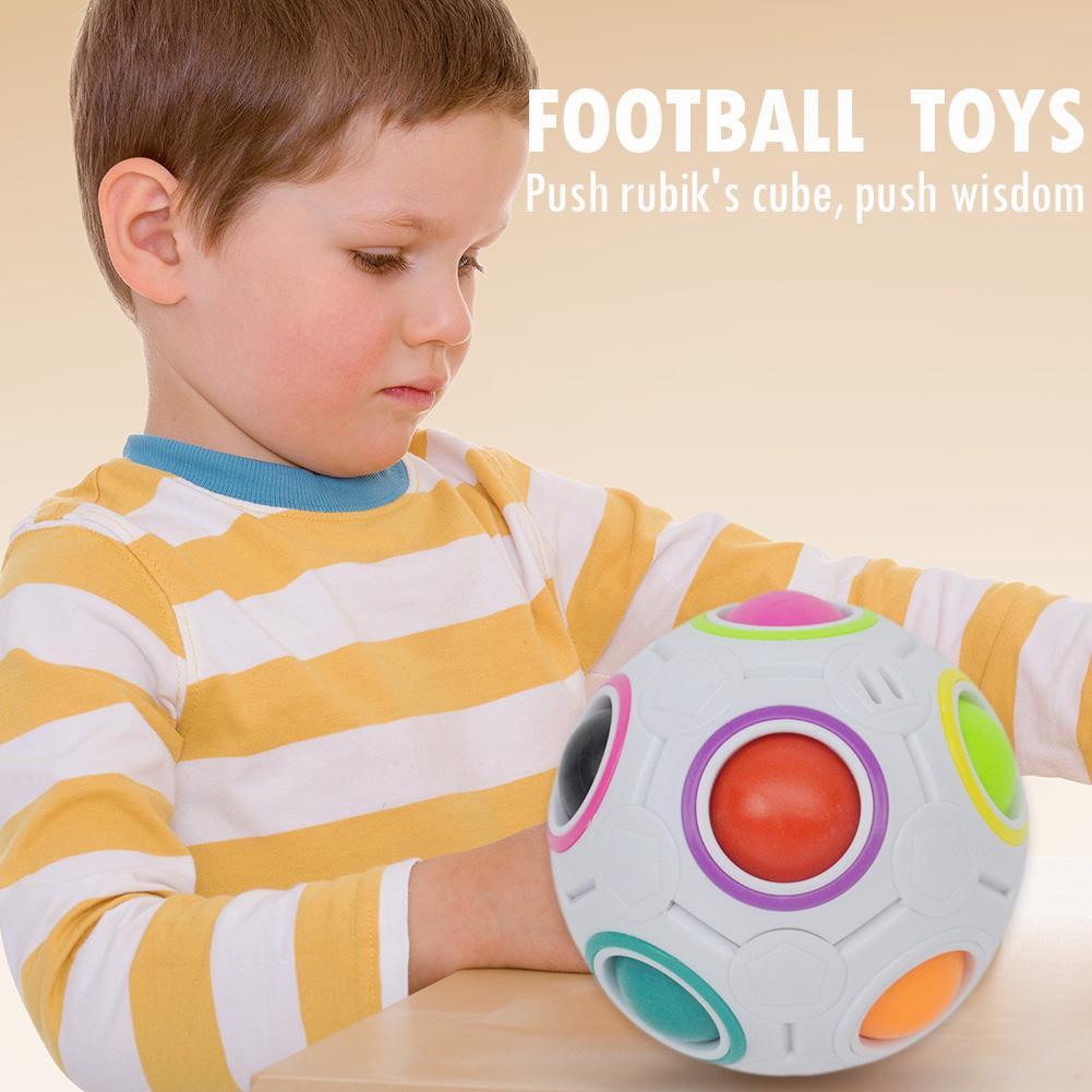 Fidget-Toys Football-Puzzle-Ball Rainbow Magic And Mini Skillful-Design Learning Funny img5