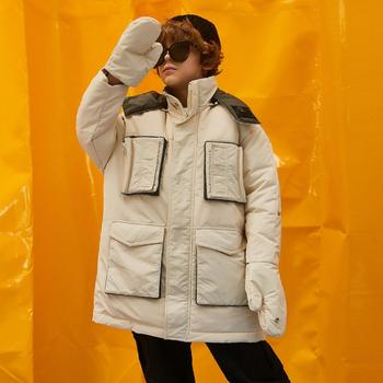 2019 Winter New Fashion Children Thicker Warm down Coat Patch Pocket Design Boys Outerwear modis kids Clothes down jacket Y2050