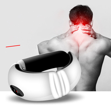 Electric Pulse Back and Neck Massager For Pain Relief