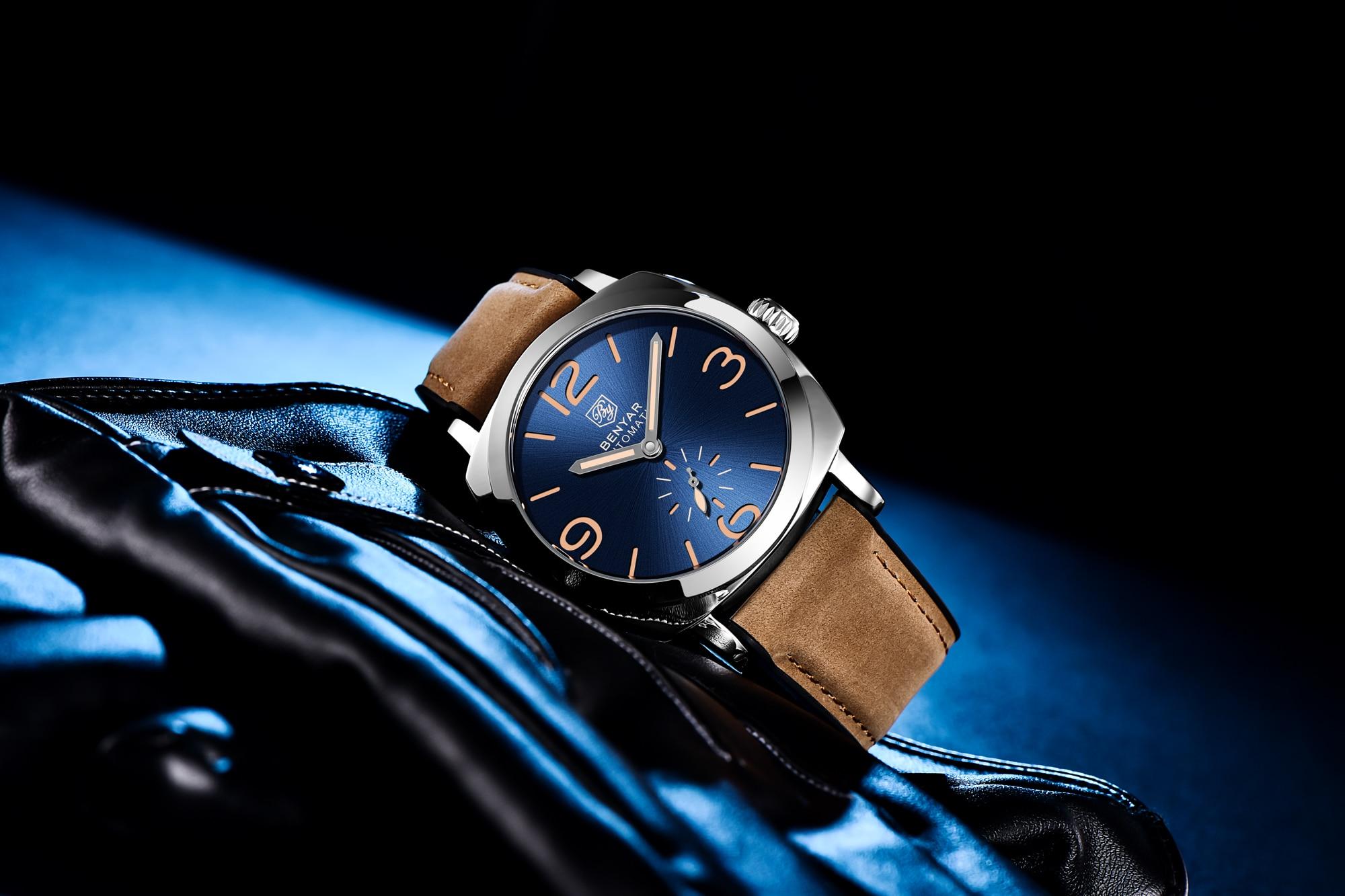 Benyar Design BY-5174M Brown Silver Blue